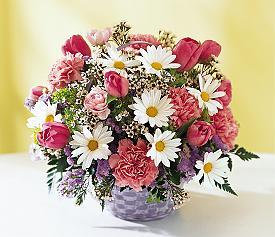 Ankara Polatlı online çiçek gönderme sipariş  Karisik mevsim çiçek sepeti