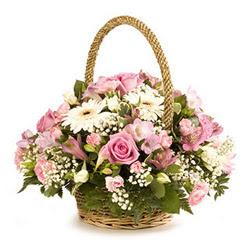 Ankara Polatlı online çiçek gönderme sipariş  Gül ve gerberalardan çiçek aranjmani