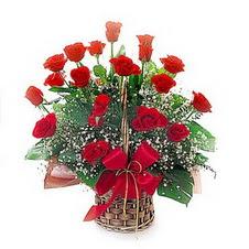 Ankara Polatlı Ankara kaliteli taze ve ucuz çiçekler  saygi duyanlara 12 adet kirmizi gül