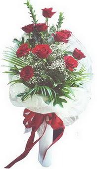 Polatlı Ankara hediye çiçek yolla  10 adet kirmizi gülden buket tanzimi özel anlara