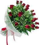 Polatlı internetten çiçek satışı  11 adet kirmizi gül buketi sade ve hos sevenler