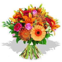 Polatlıya çiçek Ankara çiçekçi telefonları  Karisik kir çiçeklerinden görsel demet