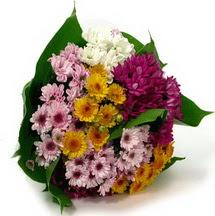 Polatlıya çiçek Ankara çiçekçi telefonları  Karisik kir çiçekleri demeti herkeze