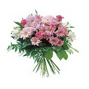 karisik kir çiçek demeti  Polatlı çiçek satışı