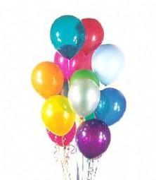 Polatlı çiçek satışı  19 adet karisik renkte balonlar