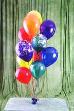 Polatlı cicek , cicekci  19 adet uçan balon demeti balonlar