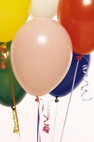 Polatlı Ankara hediye çiçek yolla  19 adet renklis latex uçan balon buketi