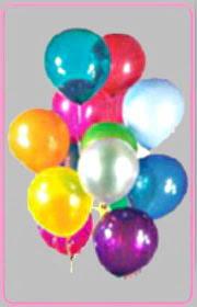 Ankara Polatlı online çiçek gönderme sipariş  15 adet karisik renkte balonlar uçan balon