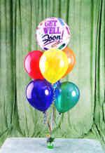 Polatlı çiçek yolla , çiçek gönder , çiçekçi   18 adet renkli uçan balon hediye ürünü balon
