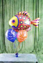 Ankara Polatlı online çiçek gönderme sipariş  9 adet uçan balon renkli oyuncak balonlar