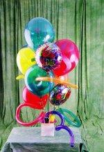 Polatlıda çiçekçi güvenli kaliteli hızlı çiçek  karisik görüntüde renkli uçan balon buketi