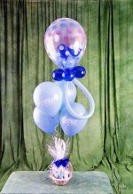 Ankara Polatlı online çiçek gönderme sipariş  15 adet uçan balon ve küçük kutuda çikolata