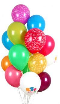 Polatlı Ankara hediye çiçek yolla  30 adet uçan balon buketi demeti renkli