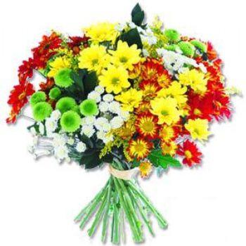 Kir çiçeklerinden buket modeli  Ankara Polatlı online çiçek gönderme sipariş