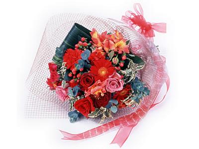 Karisik buket çiçek modeli sevilenlere  Polatlı uluslararası çiçek gönderme