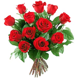11 adet bakara kirmizi gül buketi  Polatlıda çiçekçi güvenli kaliteli hızlı çiçek