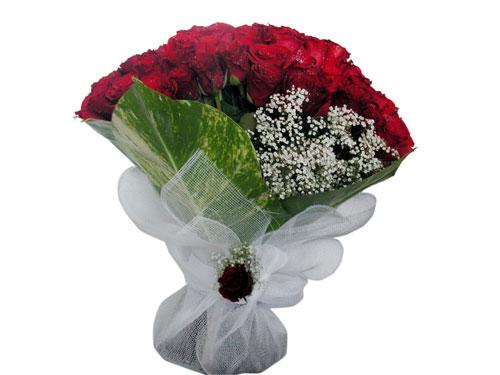 25 adet kirmizi gül görsel çiçek modeli  Polatlıdaki çiçekçiler çiçek servisi , çiçekçi adresleri