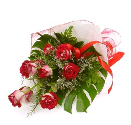 çiçek gönder 7 adet kirmizi gül buketi  Ankara Polatlı Ankara kaliteli taze ve ucuz çiçekler