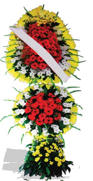 Dügün nikah açilis çiçekleri sepet modeli  Ankara Polatlı çiçek yolla