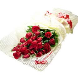 Çiçek gönderme 13 adet kirmizi gül buketi  Polatlı çiçek satışı