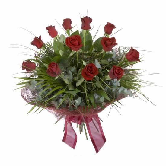 Etkileyici buket 11 adet kirmizi gül buketi  Polatlı internetten çiçek satışı