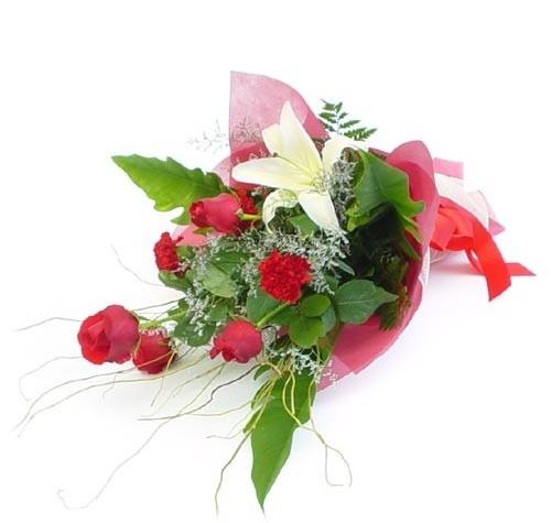 Mevsim çiçeklerinden karisik buket  Polatlı cicek , cicekci