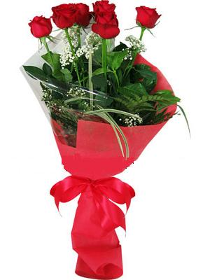 7 adet kirmizi gül buketi  Polatlı çiçek yolla , çiçek gönder , çiçekçi