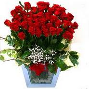 internetten çiçek siparişi   51 adet kirmizi gül aranjmani
