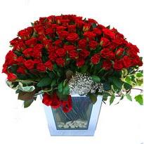 Polatlıdaki çiçekçiler   101 adet kirmizi gül aranjmani