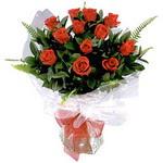 Polatlı Ankara çiçek , çiçekçi , çiçekçilik  9 adet güzel bir gül buketi
