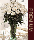 Ankara Polatlı Ankara kaliteli taze ve ucuz çiçekler  Beyaz güllerden vazo tanzim