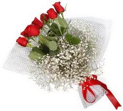 7 adet kirmizimi kirmizi gül buketi  Polatlı hediye sevgilime hediye çiçek