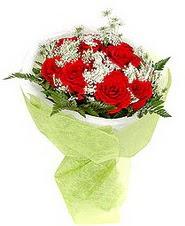 Polatlı Ankara çiçek , çiçekçi , çiçekçilik  7 adet kirmizi gül buketi tanzimi