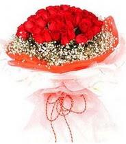 Polatlı hediye sevgilime hediye çiçek  21 adet askin kirmizi gül buketi