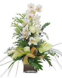 Polatlıya çiçek çiçek mağazası , çiçekçi adresleri  cam vazo içerisinde 1 dal orkide çiçegi