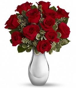 Polatlı çiçek siparişi vermek   vazo içerisinde 11 adet kırmızı gül tanzimi