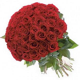 Polatlıda çiçekçi güvenli kaliteli hızlı çiçek  101 adet kırmızı gül buketi modeli