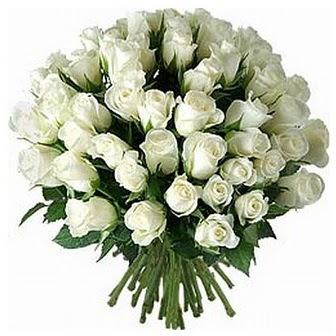 Polatlıdaki çiçekçiler çiçek servisi , çiçekçi adresleri  33 adet beyaz gül buketi