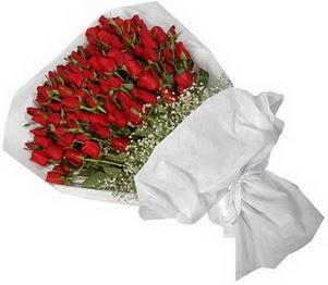Ankara Polatlı İnternetten çiçek siparişi  51 adet kırmızı gül buket çiçeği