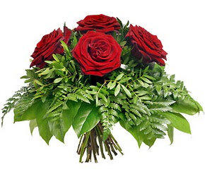 Polatlıya çiçek çiçek mağazası , çiçekçi adresleri  5 adet kırmızı gülden buket