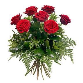 Ankara Polatlı online çiçek gönderme sipariş  7 adet kırmızı gülden buket