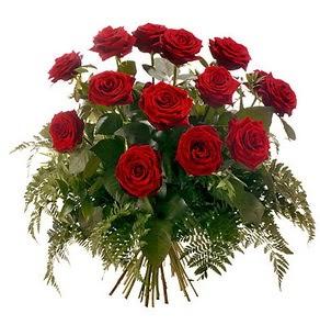Polatlı internetten çiçek satışı  15 adet kırmızı gülden buket