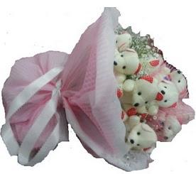 Polatlı çiçek siparişi vermek  12 adet ayıcıktan ayı buketi