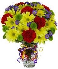En güzel hediye karışık mevsim çiçeği  Polatlı Ankara hediye çiçek yolla