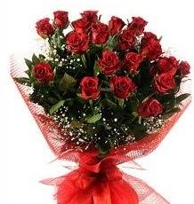 İlginç Hediye 21 Adet kırmızı gül  internetten çiçek siparişi