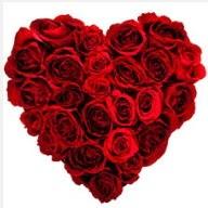 Polatlı uluslararası çiçek gönderme  19 adet kırmızı gülden kalp tanzimi