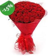51 adet kırmızı gül buketi özel hissedenlere çiçek siparişi sitesi