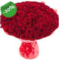 Özel mi Özel buket 101 adet kırmızı gül  Polatlı anneler günü çiçek yolla