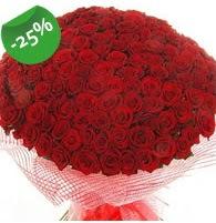 151 adet sevdiğime özel kırmızı gül buketi çiçek siparişi sitesi