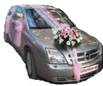 Ankara Polatlı çiçek yolla  Gelin arabası süslemesi